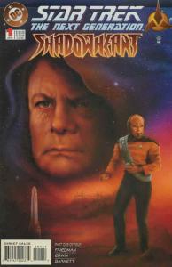 Star Trek: The Next Generation—Shadowheart #1 FN; DC | save on shipping - detail