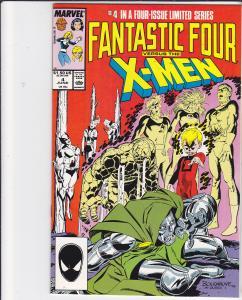 Fantastic Four vs the X-Men #4