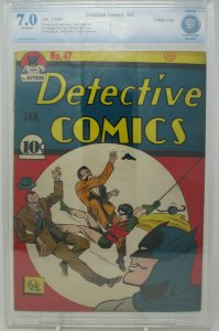 Detective Comics #47 ~ 1941 DC ~ CBCS 7.0 FN/VF