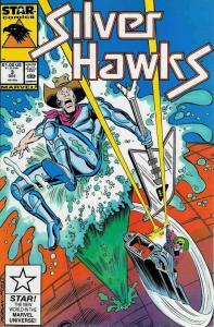 Silverhawks #3 VF; Marvel Star | save on shipping - details inside