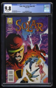 Solar, Man of the Atom #59 CGC NM/M 9.8 White Pages