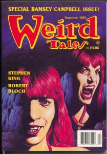 Weird Tales-Summer 1991-Terminus-vampire-Stephen King-Ramsey Campbell-VF