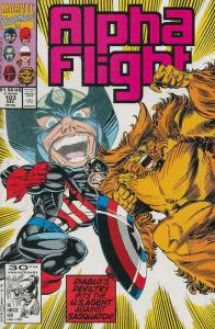 Alpha Flight (1st Series) #103 VF/NM; Marvel | save on shipping - details inside