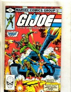 GI Joe # 1 NM Marvel Comic Book Duke Snake Eyes Storm Shadow Destro Cobra HJ9