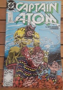DC COMICS-CAPTAIN ATOM-#34-DATED: OCT. 1989-BY:BATES, WEISMAN & GRINDBERG