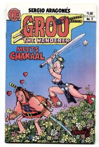 GROO THE WANDERER #7-1st appearance of Chakaal.