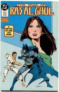 The Saga of Ras Al Ghul #3 (VF/NM) 1989 Neal Adams Copper Age DC ID86L