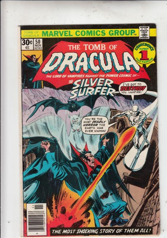 Tomb of Dracula #50 (Nov-76) FN/VF High-Grade Dracula