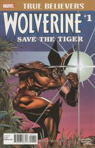 Wolverine: Save the Tiger! #1 (2nd) VF; Marvel | save on shipping - details insi
