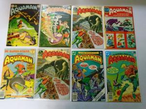 Aquaman Lot, 23 Different, Average 5.0 (Range 4.0-5.0)