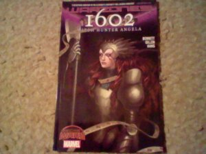 1602:  Witch Hunter Angela Marvel Secret Wars Warzones! TPB, Collects issues 1-4
