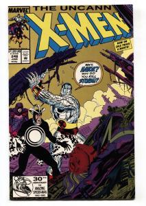 X-MEN #248 2nd print variant-comic book Jim Lee art-Comic book 1989-MARVEL