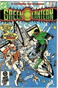Green Lantern #187 (1960 v2) Hal Jordan John Stewart NM