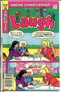 Laugh #365 1981-Archie-Betty-Veronica-FN