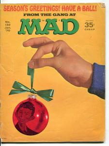 Mad-Magazine-#132-1970-Mort Drucker-Don Martin-David Berg