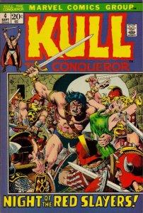 Kull The Conqueror #4 (ungraded) stock photo ID# B-10