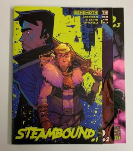 Steambound #1-3 Set (Behemoth 2021) 1 2 3 Giuseppe Andreozzi (9.2+)