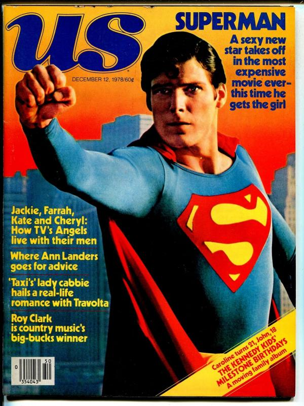 US 12/12/1978-Superman-Christopher Reeve-Charlies Angels-Capt Stickey-VF