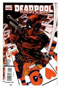 Deadpool Suicide Kings # 1 VF Marvel Comic Book X-Men Cable Wolverine J295