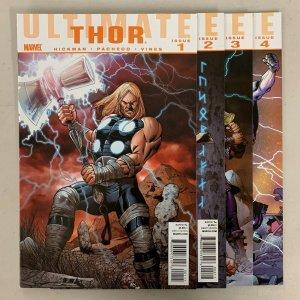 Ultimate Thor (Marvel 2020) #1-4 Set Jonathan Hickman 1 2 3 4 (9.0+)