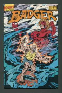 Badger #6 / 8.0 VFN  July 1984