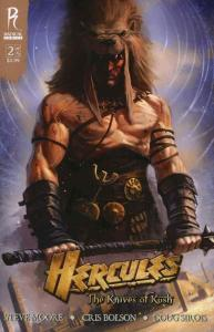 Hercules: The Knives of Kush #2A FN; Radical | save on shipping - details inside