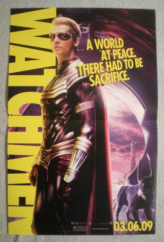 WATCHMEN Promo Poster, Movie,  11x17, 2009, Unused, more Promos in store, c