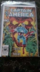 Captain America #326 (Marvel,1986) Condition NM-