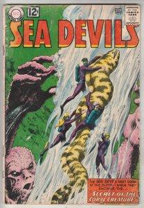 Sea Devils #5 (Jun-62) VG Affordable-Grade Sea Devils (Dane Dorrence, Biff Ba...