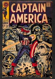 Captain America #107 GD/VG 3.0 Marvel Comics
