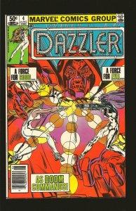 Marvel Comics Dazzler Vol 1 No 4 June 1981