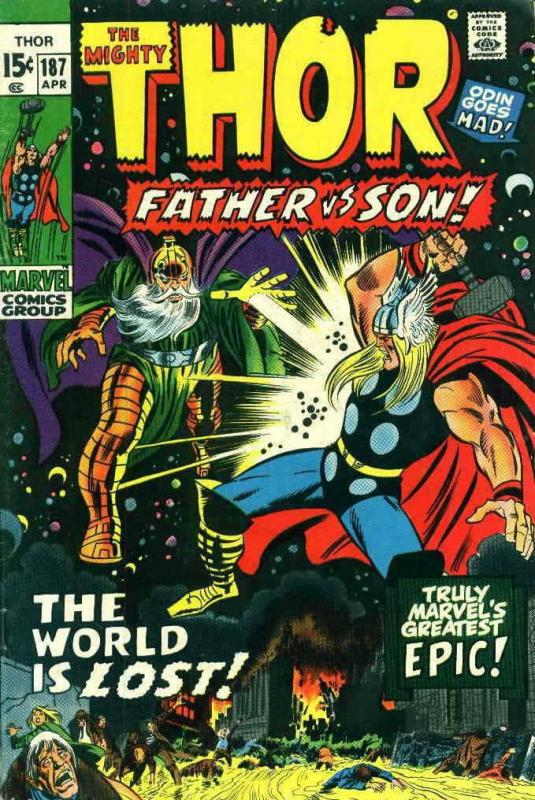Thor #187 VG; Marvel | low grade comic - save on shipping - details inside
