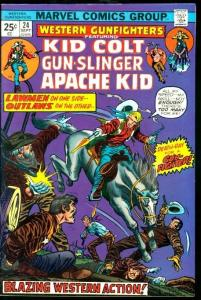 WESTERN GUNFIGHTERS #24-KID COLT/APACHE KID/ETC VF