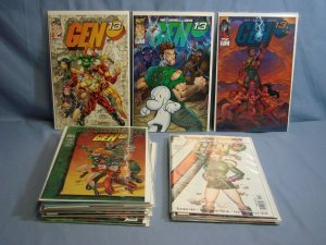 23 GEN 13 Comic Books Issues #10-29 Missing Only #17 Includes Some Variants LOOK