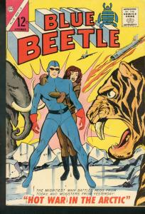 BLUE BEETLE V.2 #2 1964 TIGER COVER CHARLTON FN