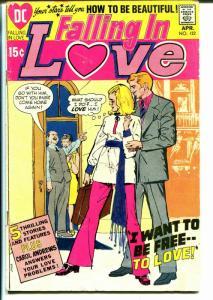 Falling In Love #122 1971-DC-good art-African American in mind-G