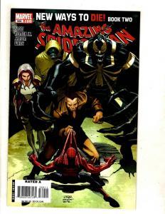 Amazing Spider-Man # 569 NM 1st Print Marvel Comic Book 1st Anti-Venom App. CJ13