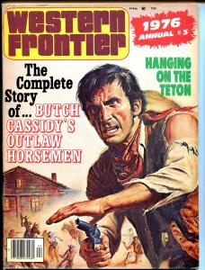 Western Frontier Annual #3 1976-gunfight-Butch Cassidy-Bronco Charley Miller-FN