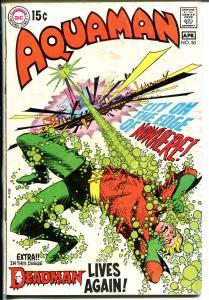 Aquaman- #50 1970-DC-Neal Adams art-G
