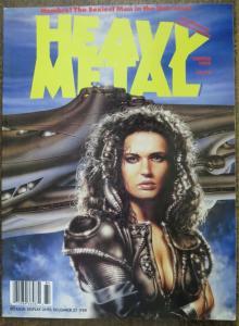 HEAVY METAL Vol.12 #4, Winter 1989. Luis Royo, Sesar,Prado, Ortiz,Pellejero,F-VF