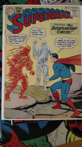 Superman #145 (DC,May 1961) Condition VG