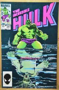 The Incredible Hulk #297 (1984) Classic Cover ! Direct Edition