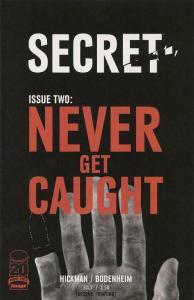 Secret (Image) #2 (2nd) VF/NM; Image | save on shipping - details inside