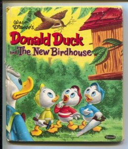 Donald Duck and The New Birdhouse #2516-1956-Tell-A-Tale bookcolor interior a...