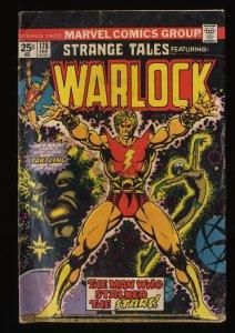 Strange Tales #178 VG 4.0 Adam Warlock 1st Magus!