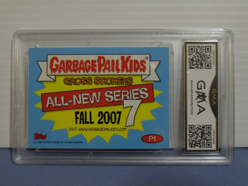 2007 Garbage Pail Kids Dough Boyd #P1 Promo Card Gross Stickers - Graded Gem 10
