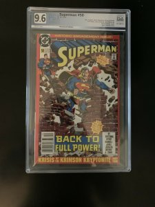 Superman  #50 historic engagement (Full) Newsstand