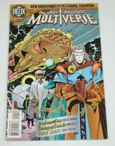 Michael Moorcock's Multiverse #1 VF/NM signed by Walter Simonson elric helix dc