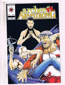 Lot Of 9 Archer & Armstrong Valiant Comic Books # 9 11 13 14 16 17 18 19 20 HJ4