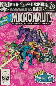 Micronauts (Vol. 1) #35 VF/NM; Marvel | save on shipping - details inside